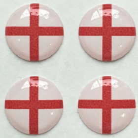 St George Flag Hankie Pin 10mm